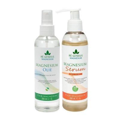 Magnesium serum concentraat 200 ml + een navulfles van 500 ml