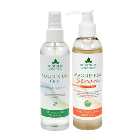 Magnesium serum concentraat 200 ml + een navulfles van 500 ml
