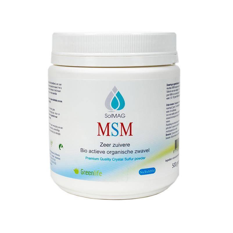 NuTraMSM - Bio organische actieve zwavel