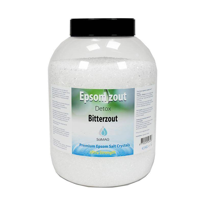 Epsomzout, bitterzout, Engels zout, magnesiumsulfaat