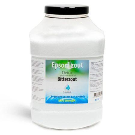 epsom zout 4.5 kg-bitterzout-magnesiumsulfaat-badzout