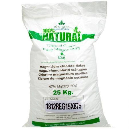 Regenesis magnesium badkristallen zak 25 kg voor ligbad