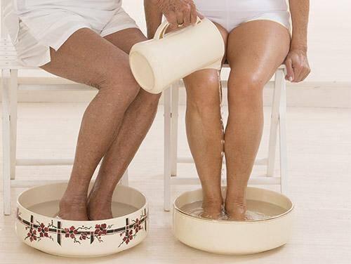 Magnesium voetenbad helpt bij een magnesium tekort