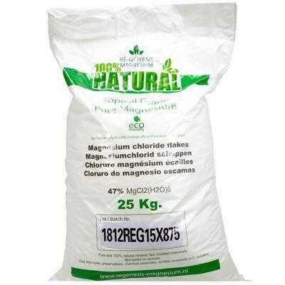 Regenesis magnesium badkristallen zak 25 kg