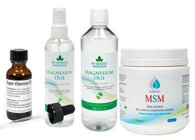 fibromyalgie en magnesium olie vitamine d3 msm