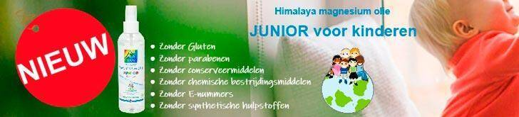 Himalaya magnesium olie JUNIOR 200 ml spray