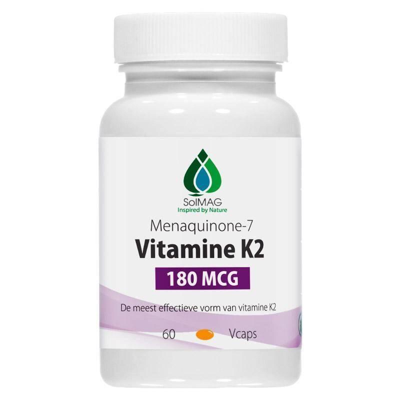 Vitamine K2 180 mcg per Vcap