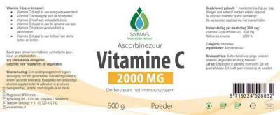 vitamine c pot 500g