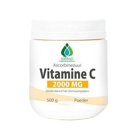 vitamine c 2000 mg per dag