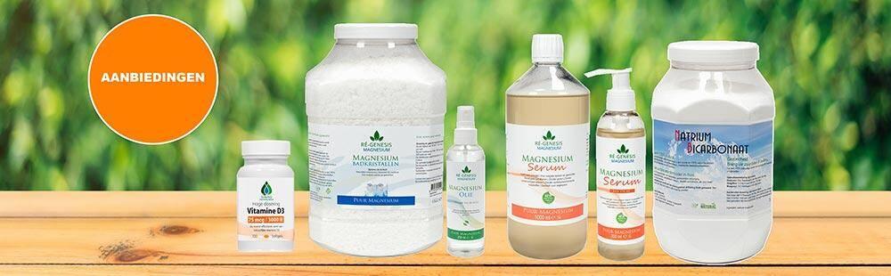 alle aanbiedingen van regensis magnesium producten