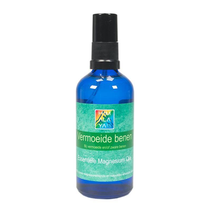 magnesium essentiele olie vermoeide benen