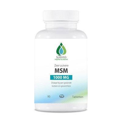 MSM 1000 mg per tablet van Solmag